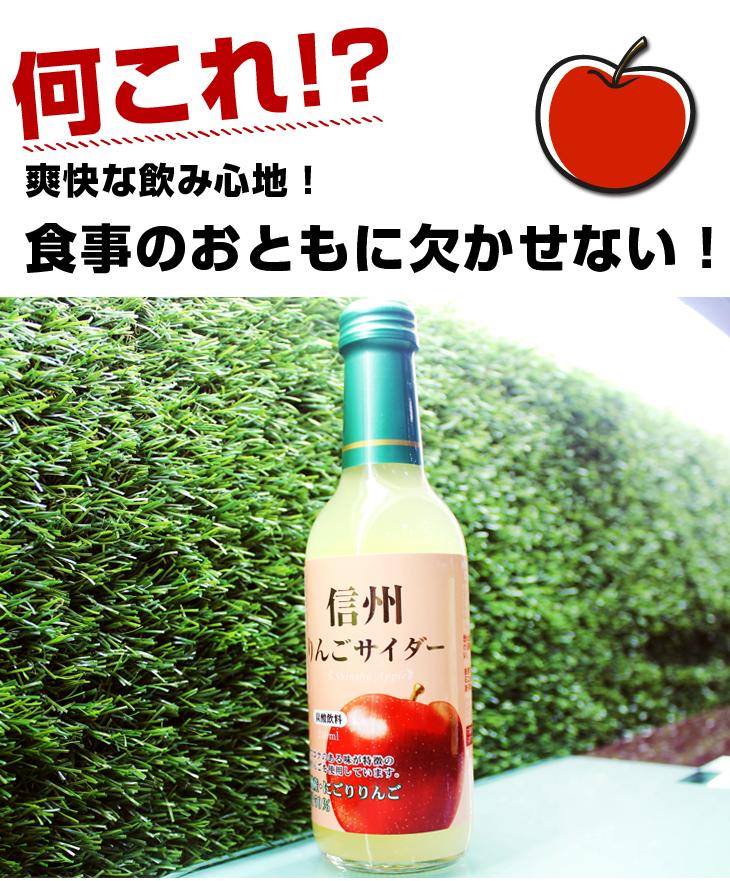 【台北濱江】日本陽光新鮮甜微酸的蘋果人手一瓶-原裝進口木村信州蘋果汽水 240mlx6瓶入