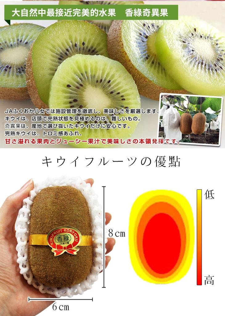 【台北濱江】日本JA香綠大賞奇異果8入/盒~稀有品種。香甜多汁,超巨大尺寸~